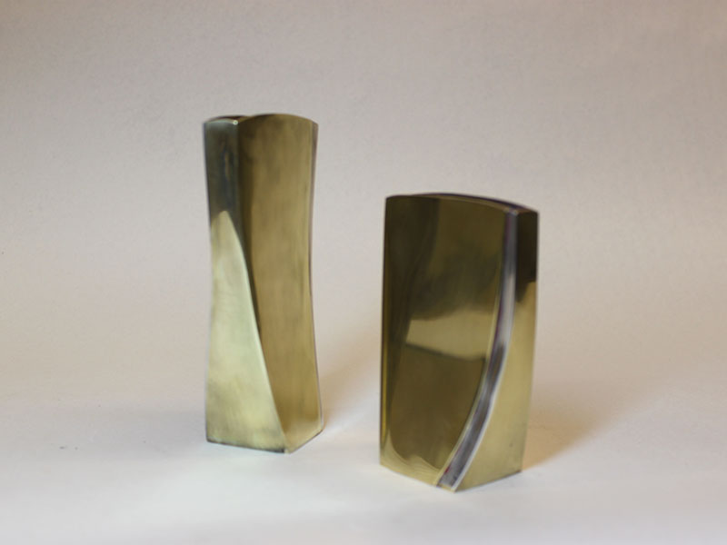Brass and silver vessels